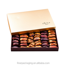 OEM Customized Dates Packaging Boxes For Food Packaging