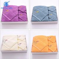 4 pc holiday gift towel sets