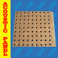 laminated mdf ceiling tiles with perforations made in china