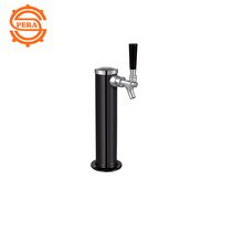 new products stainless steel beer tower /dispenser with one taps and ice tube