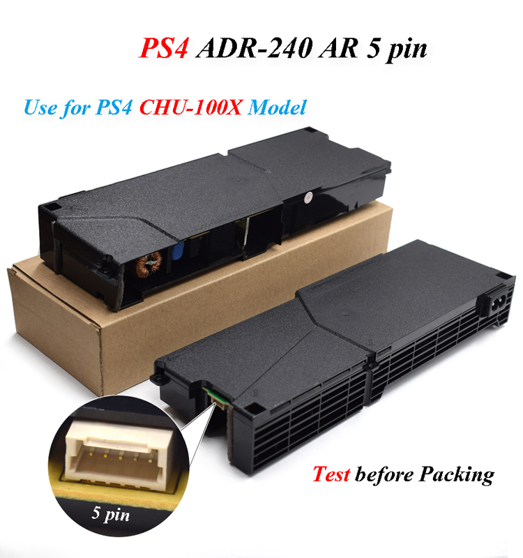 High-quality Original PS4 Power Supply Adapter 5pin for SONY Playstation 4 Console CUH-1001A ADP-240AR