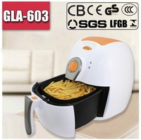 Beef chip air fryers with CE CB GS LFGB Certificates