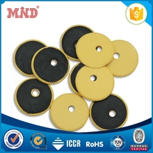 MDLT013 2016 Latest 15mm 13.56mhz Plastic Small button NFC Washable RFID Laundry Tag with holes