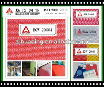 China manufacturer spunbond nonwoven cloth forming conveyor belt fabric
