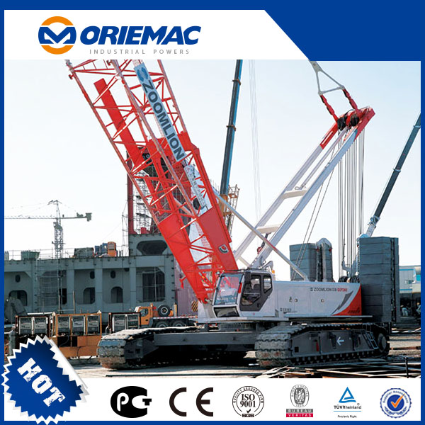 Low Price High Quality Zoomlion 260ton Crawler Crane QUY260 For Sale