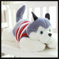 best made soft toy husky customized for sale