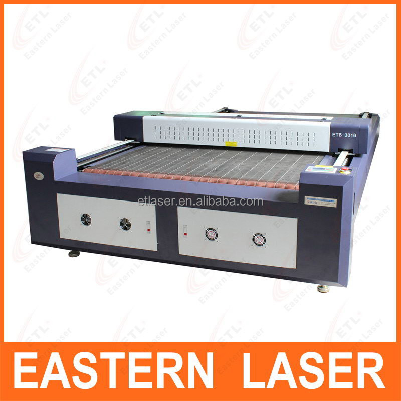 ETB-2516 Laser Cutting Flat Bed with 64-bit Intelligent DSP controller