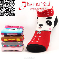 2015 the latest vivid cute animal popular combed cotton wholesale socks