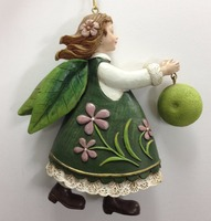 Forest Fairy Figurines Fruit Wholesale ornament