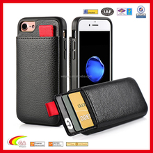 New Fashion Smart Phone Case , Shockproof For iphone7 Case Cover , Leather Wallet For iphone Holder