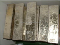Various types of tin ingot solder at reasonable price