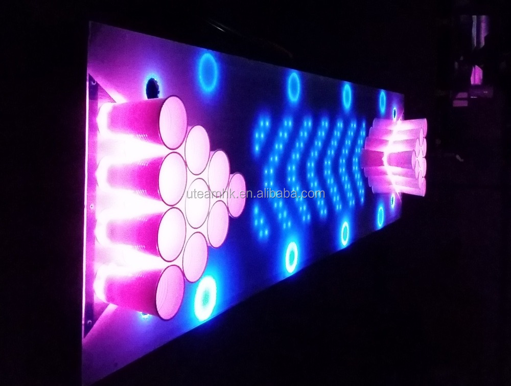 custom LED beer pong tables for bar party