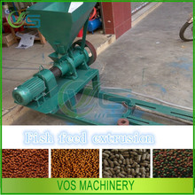 qualified floating fish extrusion/fish feed pellet machine/feed pellet mill for sale