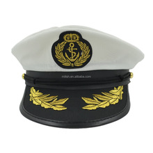 MHH122 good quality Party yacht officer sailor navy captain hat cap
