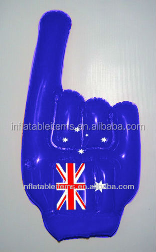 PVC giant inflatable hand