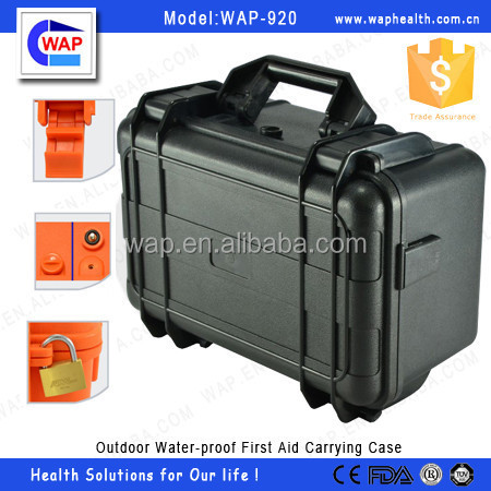Trade Assurance WAP Outdoor Water-proof empty first aid kit tool box