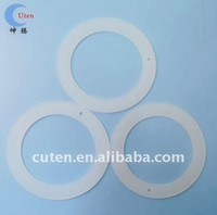 food-grade silicone rubber round gasket