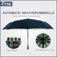 Seventy percent off automatic opening and closing large boutique business men's windproof foldable umbrella