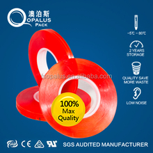 ISO9001 Tesa Equivalent 160C Heat Resistant Clear Double Sided Self Adhesive PET Plastic Film Roll