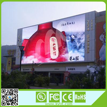 Perfect visual effect full color outdoor advertising led display screen