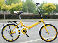 20 inch cheap mini foldable/folding bike/ bicycle made in China