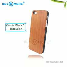 Customized design!!! High quality wood custom case for iphone 5 protective case,wood cover case for iphone5