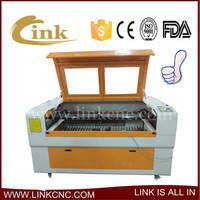 plastic laser cutting machine& 2d laser wood engraving machine New model 1490