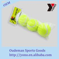 2016 high quality for dog wholesale tennis ball