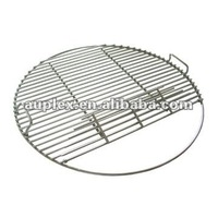 Round stainless steel portable wire mesh bbq grill grid rack