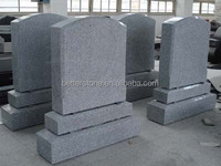 granite tombstone on sale grey tomb