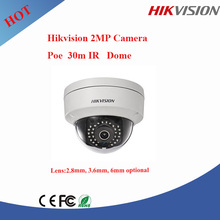 Hikvision 2MP dome camera ir dome ip camera hikvision poe camera DS-2CD2120F-I