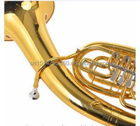 TB-G4 Bb Marching Tuba with Gold Lacquer Surface and Yellow Brass Body