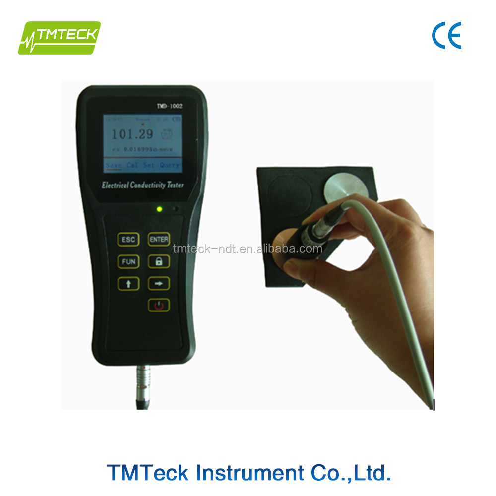 Favorable Eddy Current Electrical Conductivity Meter portable Metal Detector