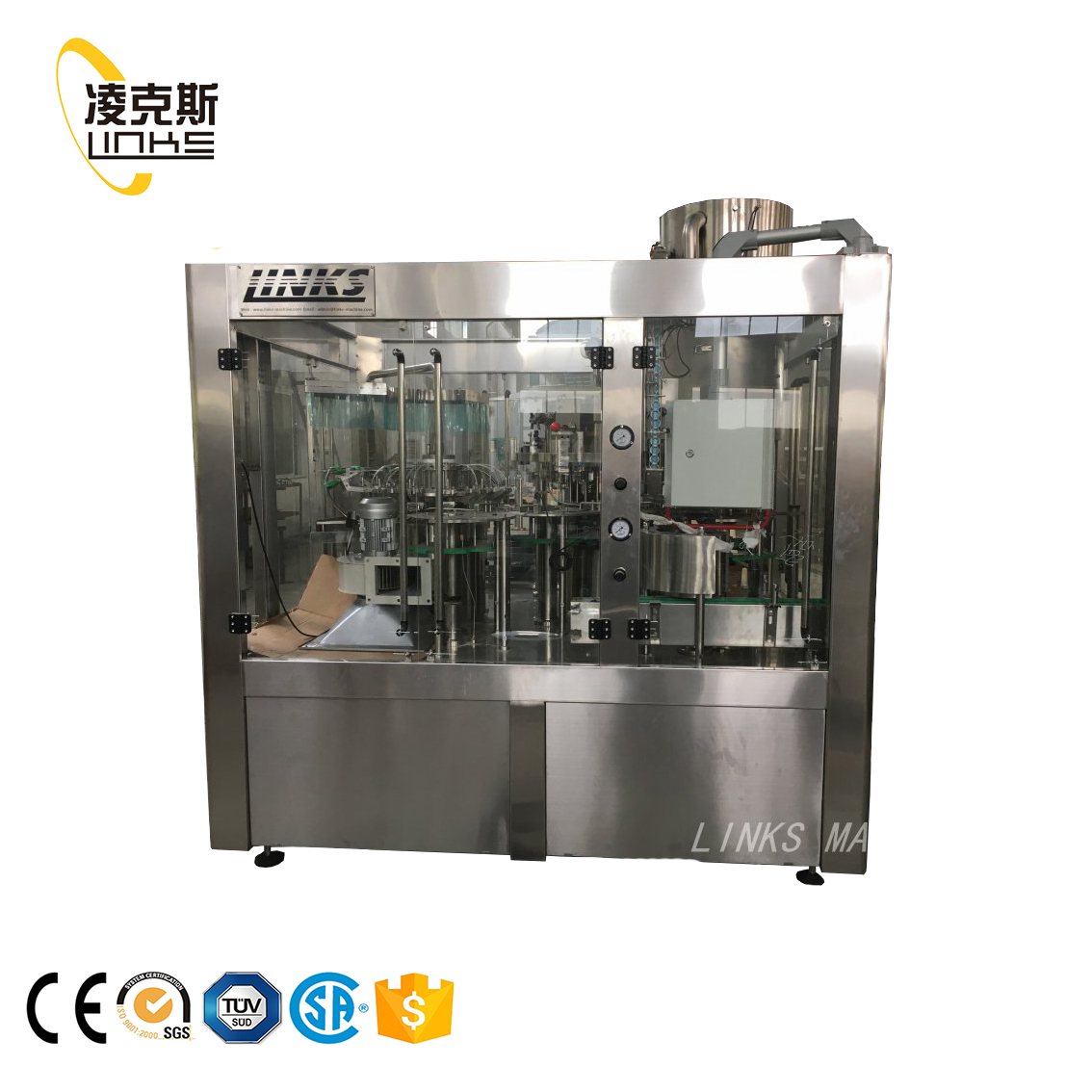 Zhangjiagang Direct price machine to make soft drinks for bottled beverage industry