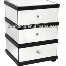 3 drawers modern design factory prices mirror cabinet