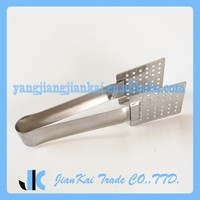 5.5 Inch Lenght Stainless Steel Mini Tongs For Barbecue, Kitchen And Serving