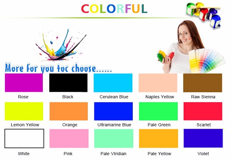 Multi-color Superior quality Non toxic finger paint pigment