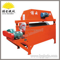 High Efficiency Dry Magnetic Drum Separator iron ore mining investors