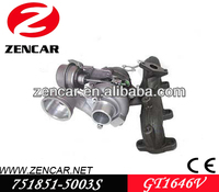 GT1646V turbo for Seat Leon 1.9 TDI Turbo 038253056E