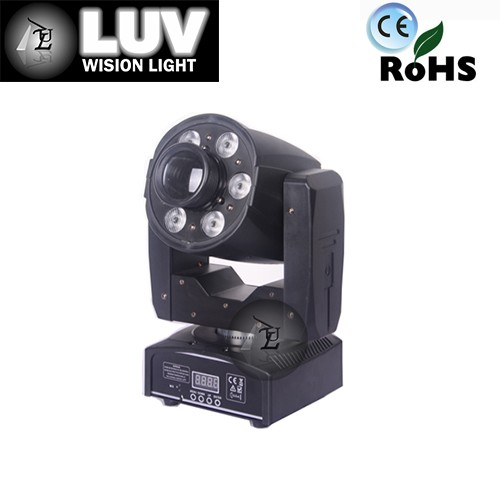2016 Hot sale 95W RGBW 4in1 led beam spot wash 3in1 moving head led light best price