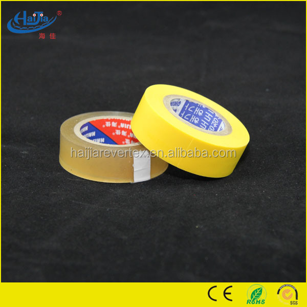Custom printed high quality Oil Glue High Quality PVC Adhesive electrical insulation tape