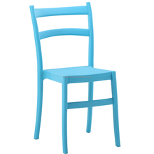 PP plastic stacking dining chair