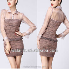 Long sleeve ladies online shopping clothes