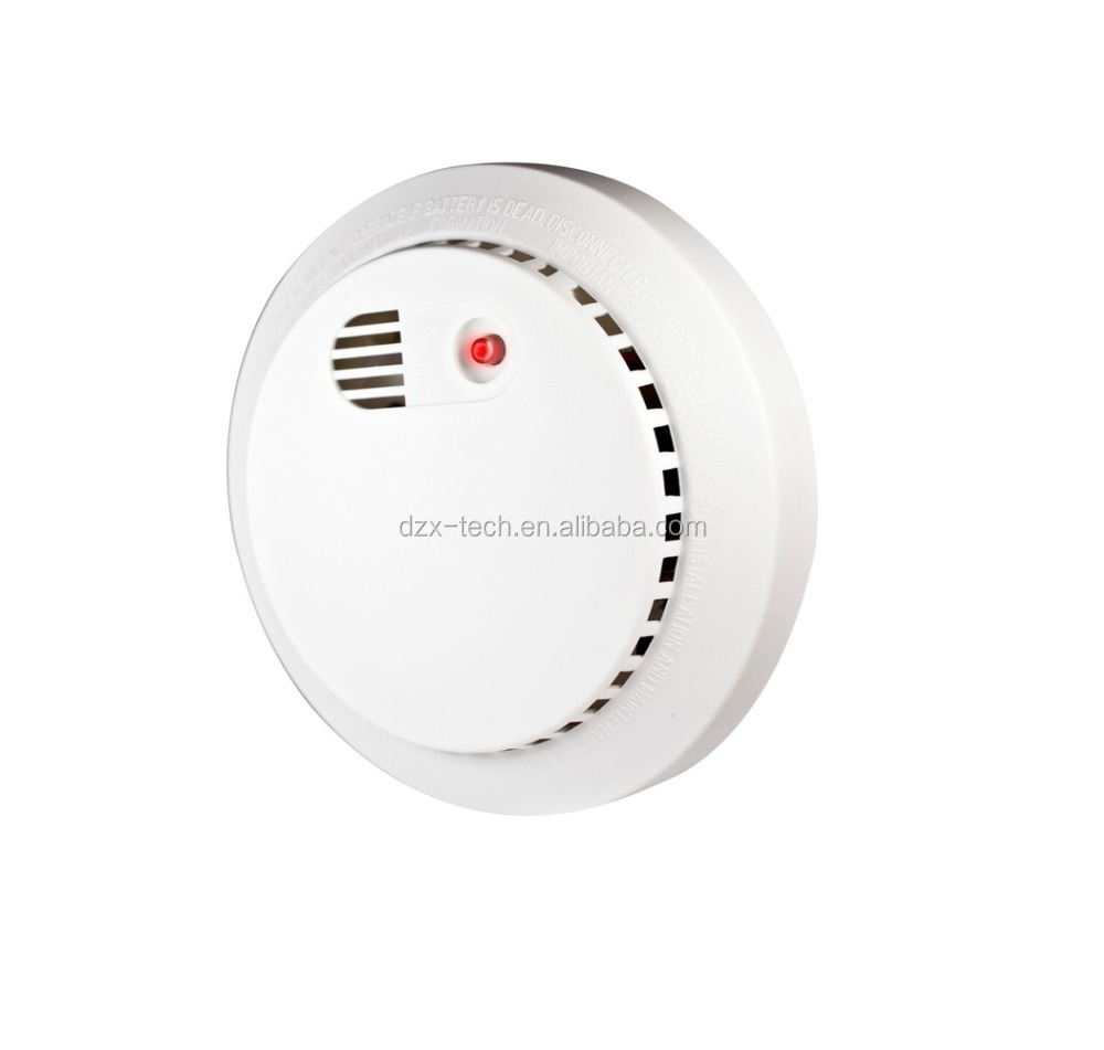 Hotest DZX-SD02 stand-alone Photoelectric 9V Battery Operated Smoke Detector