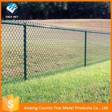 Best selling square mesh chain link fence for backyard ,Wholesale high safety used chain link fence for sale ( Gold Supplier )