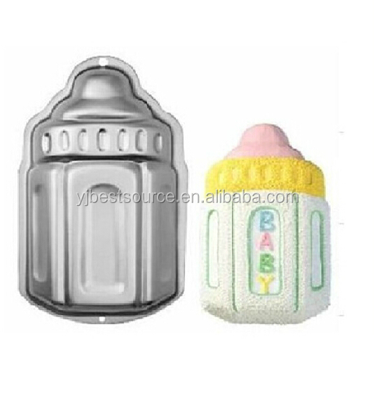 Aluminium alloy Baking cake pan Milk bottle shape