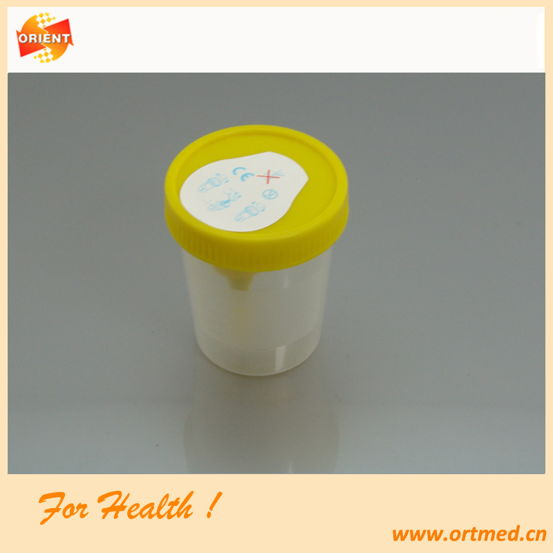 Hot sale vacuum Urine sample container for sampling tube