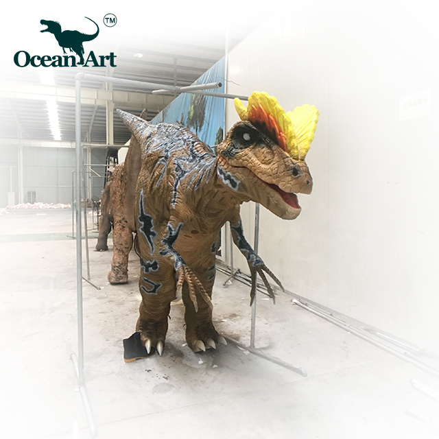 OA31220 Dinosaur Costumes Attraction Realistic Dinosaur Costumes Of Velociraptor