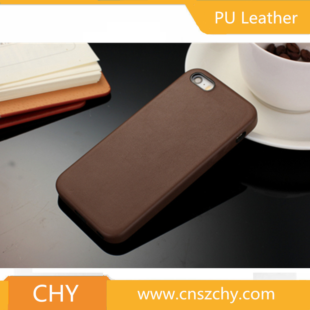 ultra thin pu leather soft mobile phone back cover skin case for iphone 5 5s