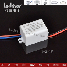 LED Dimmable Driver 300mA 280mA 350mA Constant Current Driver Traic Dimming Ac Dc Power Supply 1w 2w 3w